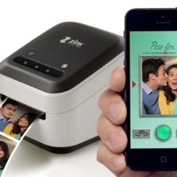 ZINK hAppy Phone Printer - Wireless Wi-Fi direct Enabled Prints Directly from IOS & Android Smart Phones, Tablets, featuring Zink Zero Ink Technology