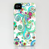 Crayon Love: Squid iPhone Case by Lisa Argyropoulos | Society6