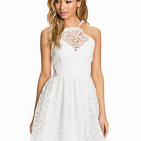Organza Brocade Dress, Club L