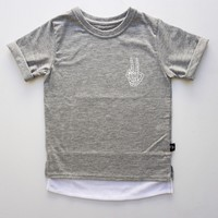 Mesh Trap Double Layered Tee