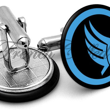 Mass Effect Paragon Cufflinks