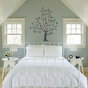 kik321 Wall Decal Sticker Room Decor Wall Art Mural beautiful tree living room bedroom children