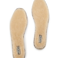Luxury Shearling Fur Insole, Natural - Hunter Boot
