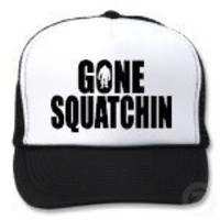 Funny GONE SQUATCHIN HAT - Special *BOBO* Edition from Zazzle.com