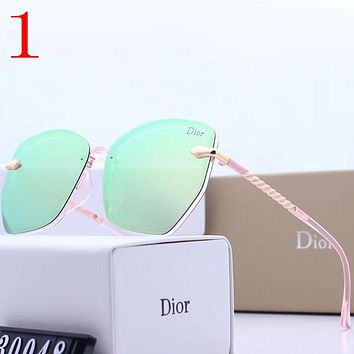 Perfect Dior Fashion Women Summer Sun Shades Eyeglasses Glasses Sunglasses