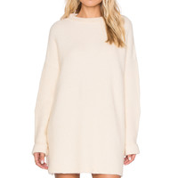 Free People Winding Ivy Sweater in Oatmeal