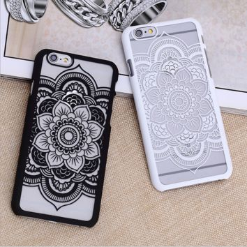 Hollow Out Lace Case for iPhone