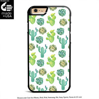 Cactus Cacti Flora iPhone 4s 5s 5c 6s 6 Plus Case, iPod Case, iPad Case, Samsung Case, HTC Case, Sony Xperia Case, Nexus Case, LG cases