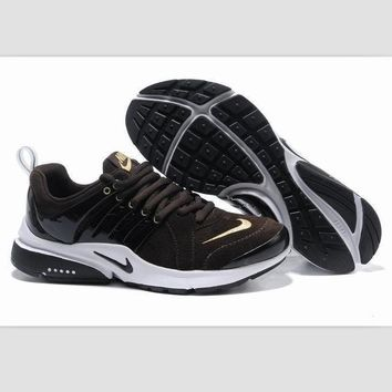 NIKE new lightweight casual shoes sports shoes Brown gold