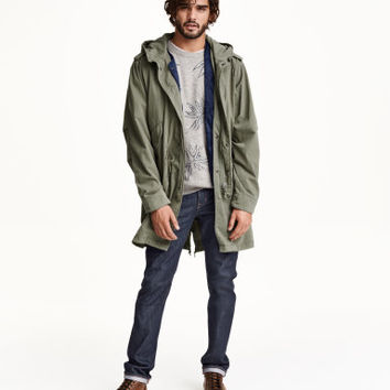 H&M Parka with Vest $99