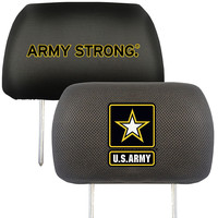 US Army Armed Forces Polyester Head Rest Cover (2 Pack)