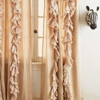 Wandering Pleats Curtain by Anthropologie