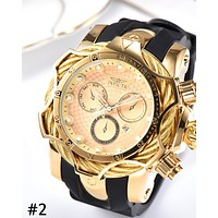 INVICTA Tide brand neutral high-end personality wild quartz watch #2