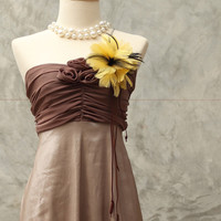 cowgirl cocktail dress / size 4 - 8