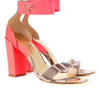 Ankle strap heel - Nude Pink | Shoes | Ted Baker UK