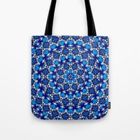 Abstract Mandala Pattern Tote Bag by tmarchev
