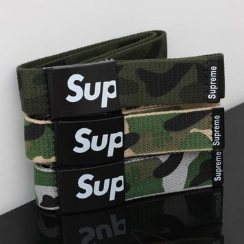 Casual Supreme Camouflage Print Hip-hop Waistband [9436859783]