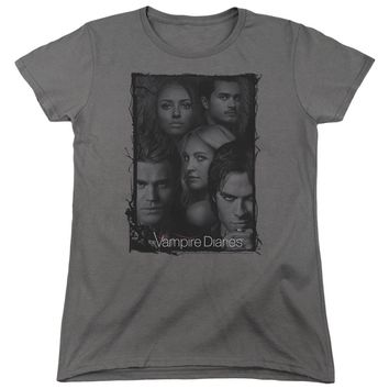 Vampire Diaries - So Here We Are Short Sleeve Women's Tee
