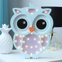 Owl lamp Owl light Owl Night light Baby room nursery night light Baby shower Lamp Owl Battery Operated Light Marquee lamp Owl nursery