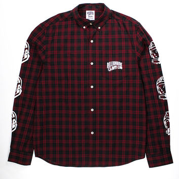 Billionaire Boys Club SP15 Plaid Shirt