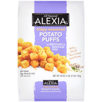 Walmart: Alexia Foods Crispy Seasoned Potato Puffs with Roasted Garlic and Cracked Black Pepper, 28 oz