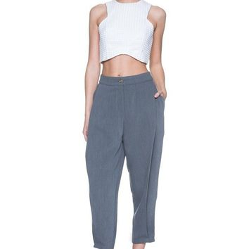 Cropped Harem Trouser