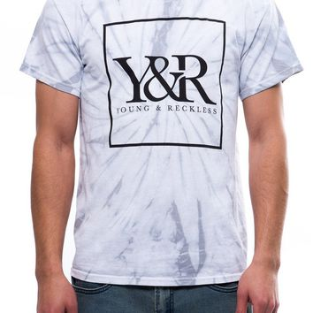 Trademark Box Dye Tee- Grey