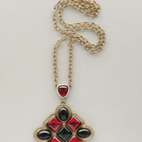 Ruby Solstice Necklace
