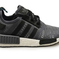 Mens Adidas NMD R1 - BB1358 - Grey Black White Trainers