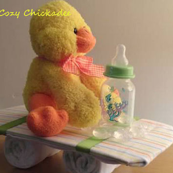 Duck Baby Shower Centerpiece or Gift