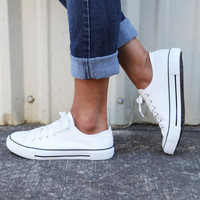 Go-To Sneaks {White}