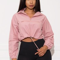 Viola Jacket- Dusty Pink