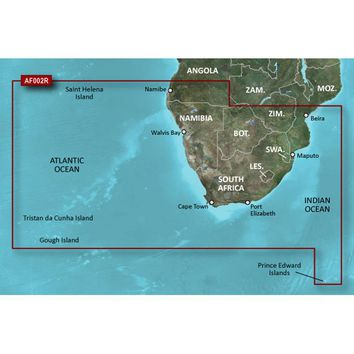 Garmin Bluechart g2 Vision HD - VAF002R - South Africa - microSD-SD [010-C0748-00]