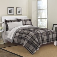 Loft Style Ultimate Plaid Bed Set (Grey)