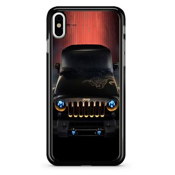 Jeep Wrangler iPhone X Case