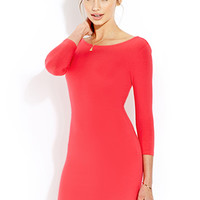 Favorite Low-Back Bodycon Dress