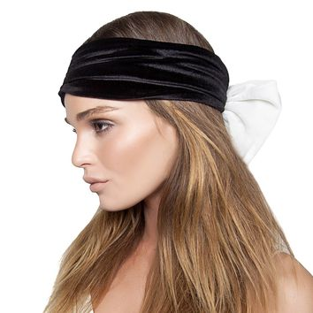 Color Block Bow Turban