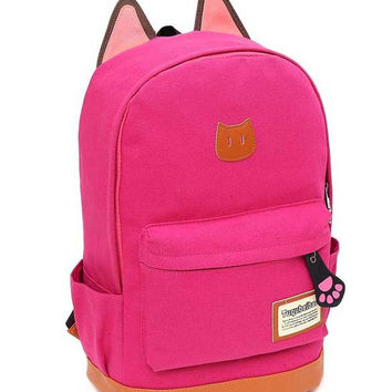 Stylish On Sale Hot Deal Back To School Casual College Comfort Fashion Canvas Korean Backpack [8070741383]