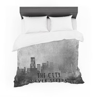"""Alison Coxon """"The City Never Sleeps"""" Featherweight Duvet Cover"""