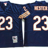 DCCK Chicago Bears Jersey - Devin Hester Throwback Jerseys