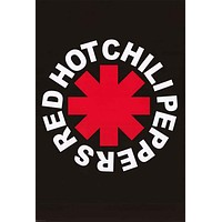 Red Hot Chili Peppers Band Logo Poster 24x36