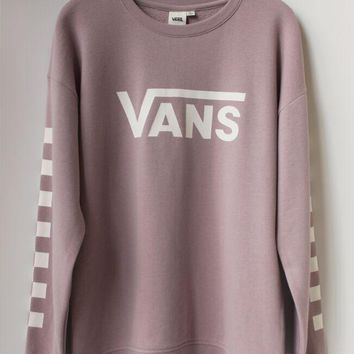 vans fashion casual long sleeve sweater pullover sweatshirt
