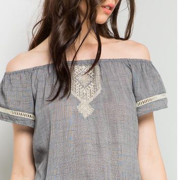Anita Light Weight Embroidered Top