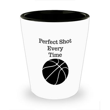 Basketball Shot Glass- Perfect Shot Every Time-Bachelor Party Favors-Father's Day Birthday Gift