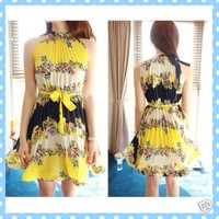Beautiful bold floral dress