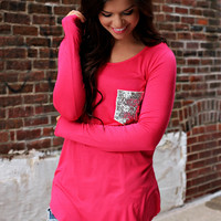 Sweethearts Top - Fuchsia