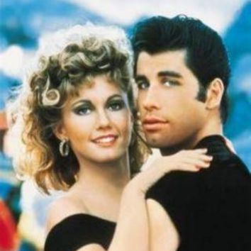 Grease Art No Text John Travolta movie poster Sign 8in x 12in