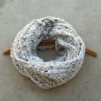 Cozy Lodge Knit Infinity Scarf