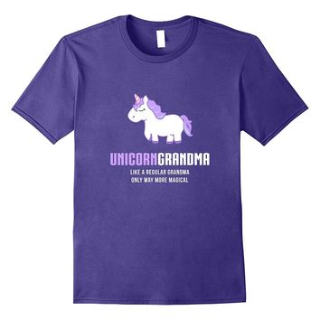 Unicorn Grandma Shirt- Funny Cute Magical Gift