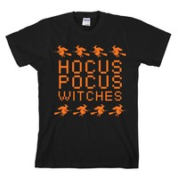 Halloween Hocus Pocus Withces Unisex Adult T-shirt - Great Gift For Awesome Halloween